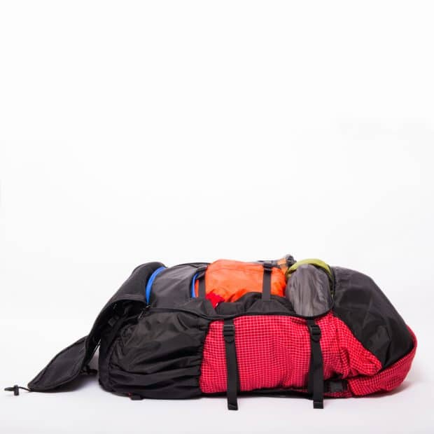 ULA Camino Open Flat Like a Suitcase